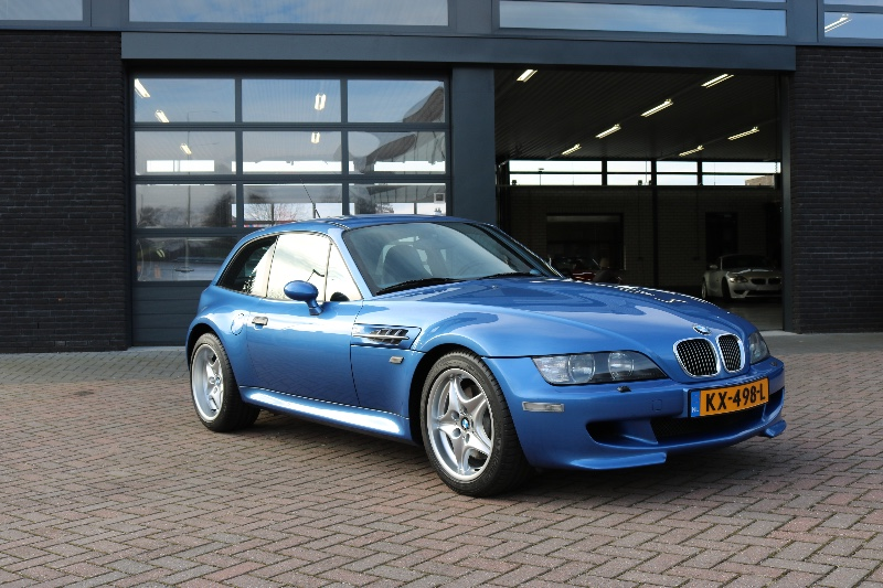 Bmw Z3m Coupe Estoril Blue Only 58 000 Km